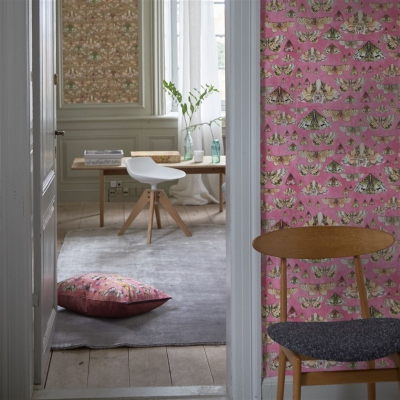 Designers Guild Issoria Rose wallpaper