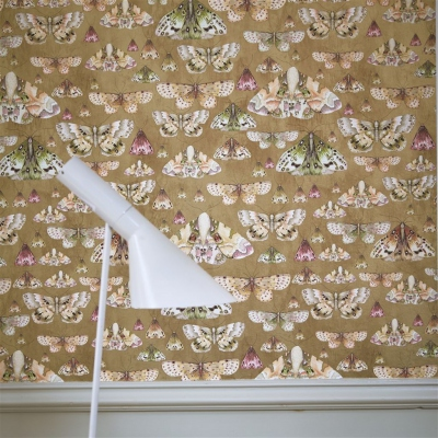 Designers Guild Issoria Gold wallpaper