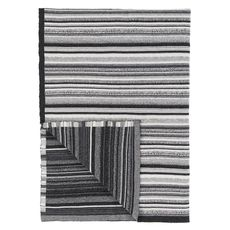 Designers Guild blanket Turrill Charcoal