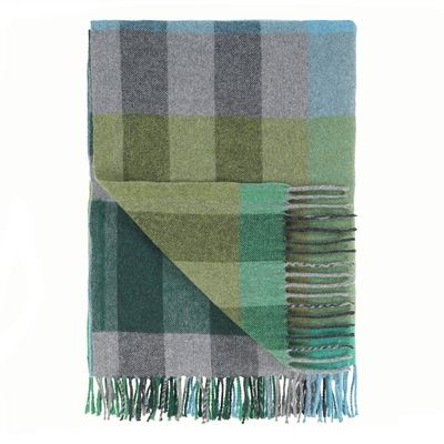 Designers Guild plaid Bampton Emerald