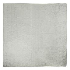 Designers Guild silk Quilt Chenevard Pebble & Duck egg