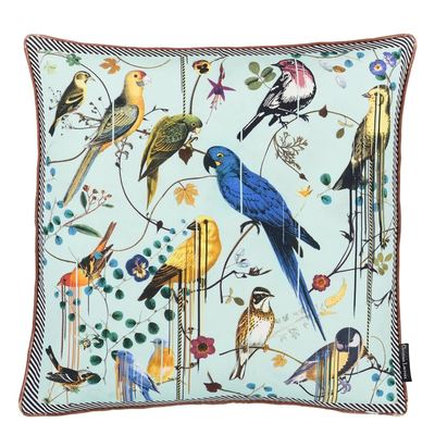 Christian Lacroix cushion Birds Sinfonia Crepuscule