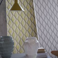 Designers Guild wallpaper Jourdain Steel
