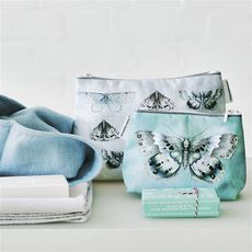Designers Guild Trousse de toilette Issoria Zinc medium