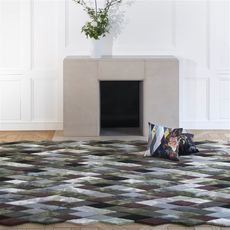 Christian Lacroix rug Mascarade Graphite