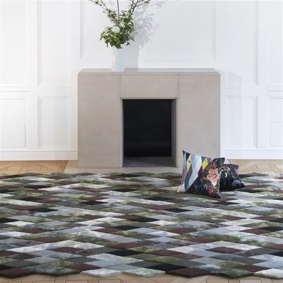 Christian Lacroix rug Mascarade Graphite Large