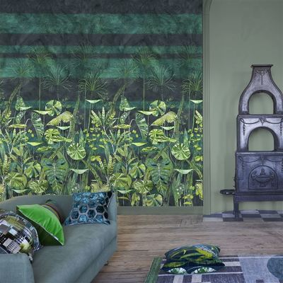 Designers Guild wallpaper Arjuna Leaf