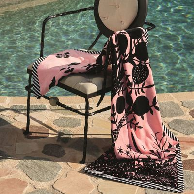 Christian Lacroix beach towel Clairiere Bourgeon