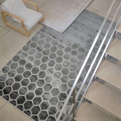 Designers Guild rug Manipur Silver XL