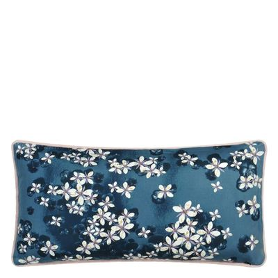 Christian Lacroix cushion Cherry Bleu Denim