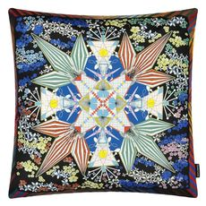 Christian Lacroix coussin Flowers Galaxy Multicolore