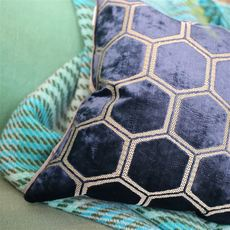Designers Guild coussin Manipur Midnight
