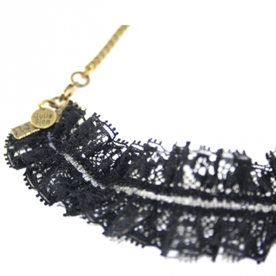 Julie Sion headband Romance in black