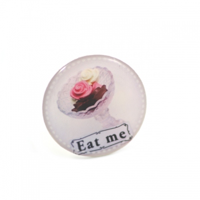 Amelie Blaise round ring Eat me