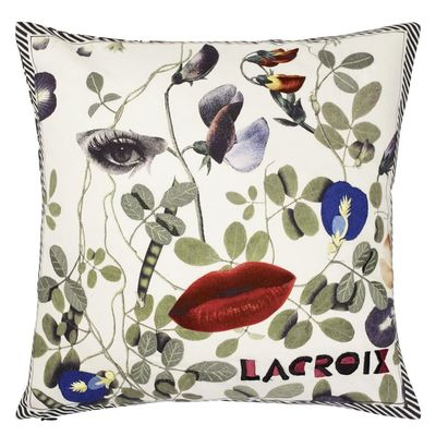 Christian Lacroix cushion Dame Nature Printemps