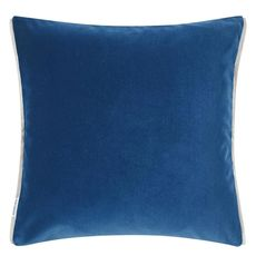 Designers Guild cushion Varese Marine