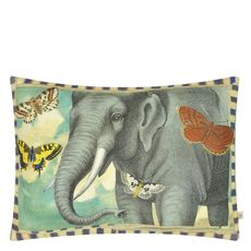 John Derian cushion Elephant's Trunk Sky