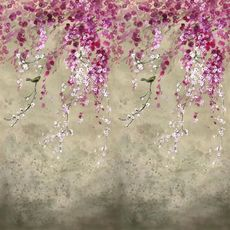 Designers Guild wallpaper Shinsha Scene 1 Blossom