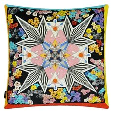 Christian Lacroix cushion Flowers Galaxy Multicolore
