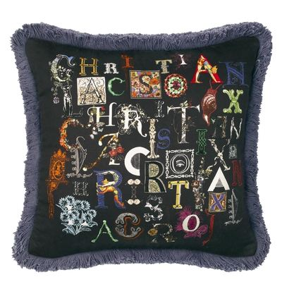 Christian Lacroix coussin Do You Speak Lacroix Multicolore
