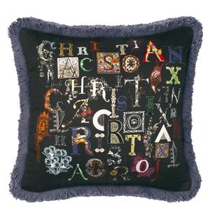 Christian Lacroix cushion Do You Speak Lacroix Multicolore