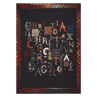 Christian Lacroix plaid Do You Speak Lacroix Multicolore