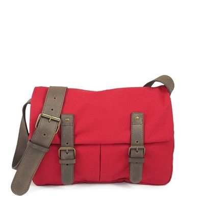 C.OUI bag Brussel Vintage rouge