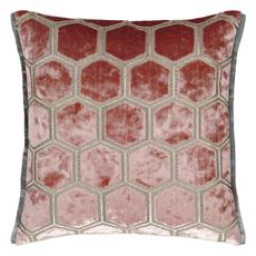 Designers Guild cushion Manipur Coral