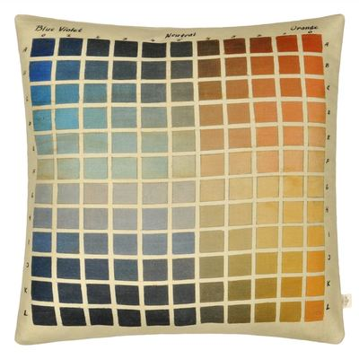 John Derian cushion Paint Charts Azure