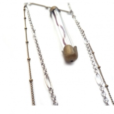 Amelie Blaise long necklace Tube