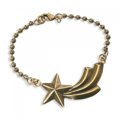 Miss Sugar Cane Shooting Star bracelet in bronze