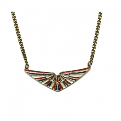 CORALIE DE SEYNES necklace Aile bronze
