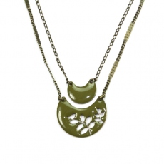 Lina Poum Collier See Me olive