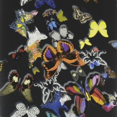 Christian Lacroix Wallpaper Butterfly Parade Oscuro