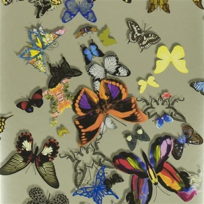 Christian Lacroix Wallpaper Butterfly Parade Platine