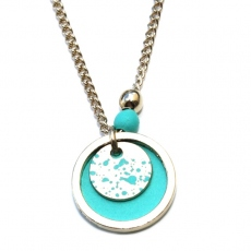 Judith Benita necklace Bulle Azur
