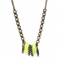 Julie Sion necklace Hula Hoop Anis