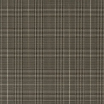 Ralph Lauren Egarton Plaid gunmetal black wallpaper