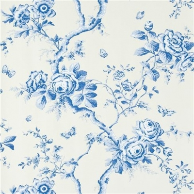 Ralph Lauren Ashfield Floral delph wallpaper