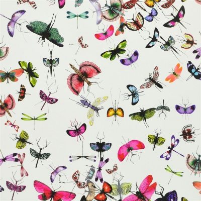 Christian Lacroix Wallpaper Mariposa Perroquet