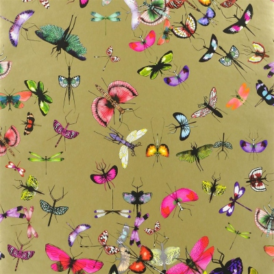 Christian Lacroix Wallpaper Mariposa Or