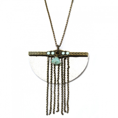 Zalie Smagghe Necklace Odilon mint