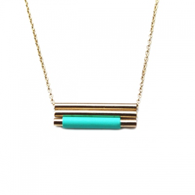 Judith Benita necklace Lines Pacifique