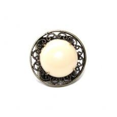 Julie Sion ring Pilow ivory