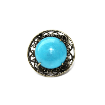 Julie Sion ring Pilow turquoise