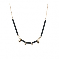 Judith Benita necklace Spleen noir