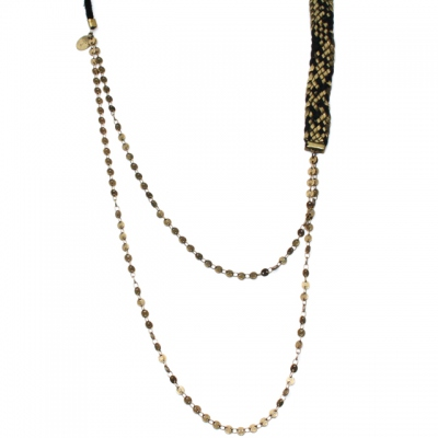 Theodora Gabrielli long necklace Isis