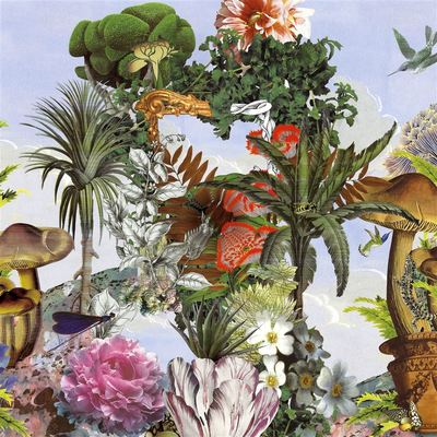 Christian Lacroix Wallpaper Jardin des Reves panoramic Prisme