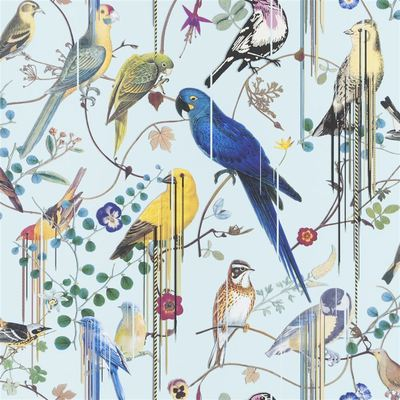 Christian Lacroix Wallpaper Birds Sinfonia Source