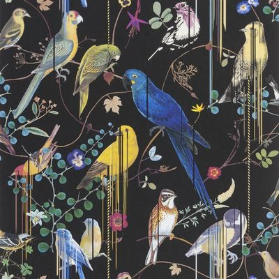 Christian Lacroix Wallpaper Birds Sinfonia Crepuscule